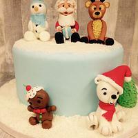 Winter/christmas cake