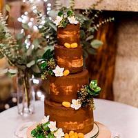Chocolate-Orange wintery wedding
