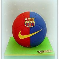 Barça soccer ball