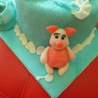 Baby Shower Cake  by JudeCreations