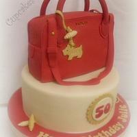 Radley Bag Birthday cake
