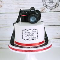 Nicon D7000 camera cake