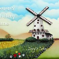 Holiday in a windmill!