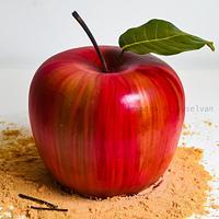 My first post here, apple cream cake