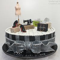 Dress Designer's Cake