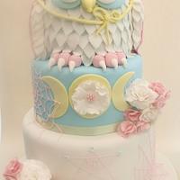 Witch Owl Birthday cake