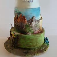 sout central america cake