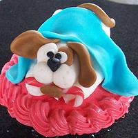 Fondant Christmas Pup