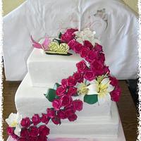 Wedding Cake for a good friend