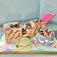 Sewing Box Cake