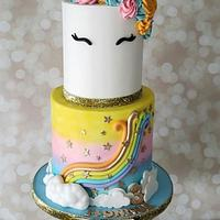 Unicorn Birthday Cake by Cakes By Julie