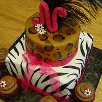 Animal Print Birthday