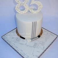 Cake for a retired architect