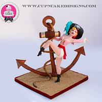 Vintage Pin-up Pirate! Sugar Pirates collaboration