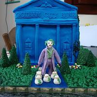 Joker robbed the Bank