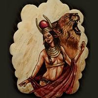 Hathor goddess  for Egypt Land of mistery collaboration