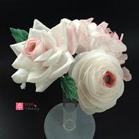 Wafer Paper flower bouquet