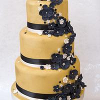 Wedding Cake - We Are Golden!