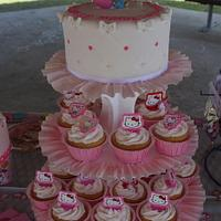 HELLO KITTY CAKE 1st B-DAY