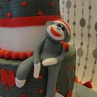 Sock Monkey by Justbakedcakes