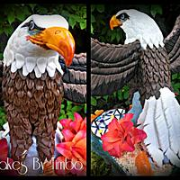 The Proud Eagle! by Timbo Sullivan