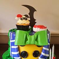 Joker/Harley Quinn /Batman Cake