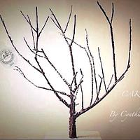 Bare Winter Tree - Christmas in Frostington Charity Collaboration