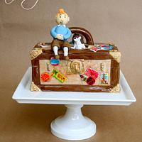 Adventures of TinTin Cake