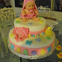 Baby Shower on my second cake