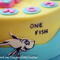 1 Fish, 2 Fish, Pink Fish, Blue Fish  by Jennifer's Edible Creations