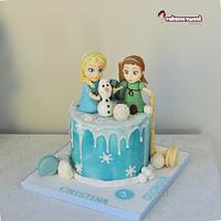 Frozen DRIP cake