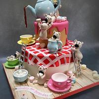 Teapot & Teddies Silver Award