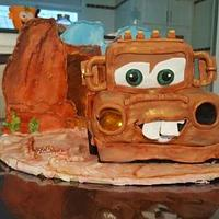 matter car cake