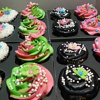 Birthday cupcakes by Melissa Cook