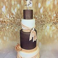 wedding cake cupidon angel's