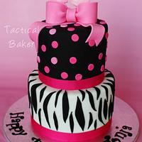 Fabulous 40 Cake