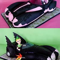 Monster High 3D Car Cake by Verusca Walker
