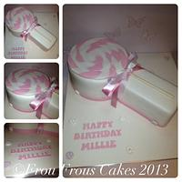 Lollipop Cake for a Special Princess