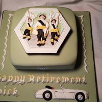 Morris Dancers Cake