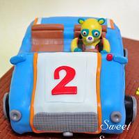 Special Agent OSO Cake