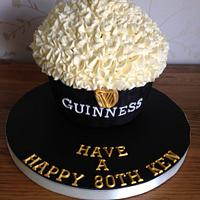 'Guinness' Giant Cupcake