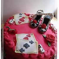 Pin Up Girl Cake