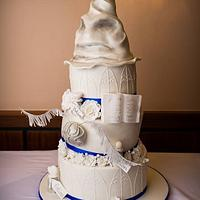 A hint of Harry (Potter) Wedding Cake