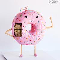 Darlene, the Donut Cake