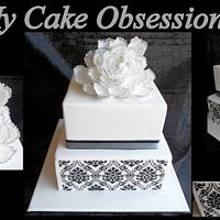 Lisa's Wedding Cake