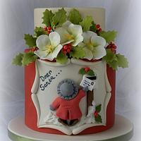 'Dear Santa …….' Christmas Cake