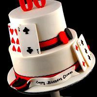 60th Casino Cake