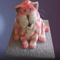 Bagpuss cat cake by Alisonarty