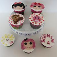 Lalaloopsy Cupcakes by Cake Creations by ME - Mayra Estrada