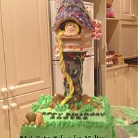 Tangled Cake by Ma' Arty Cakes by Nelissa